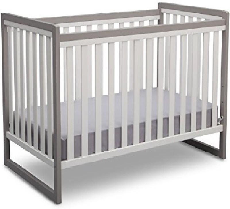 Playette Children Urban Classic 3 in 1 Crib(White)
