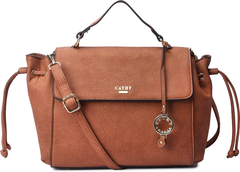 Cathy London Hand-held Bag(Tan)