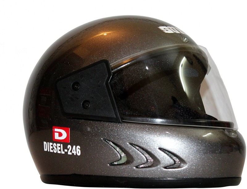 Sunny DIE Motorbike Helmet(SILVER GREY)