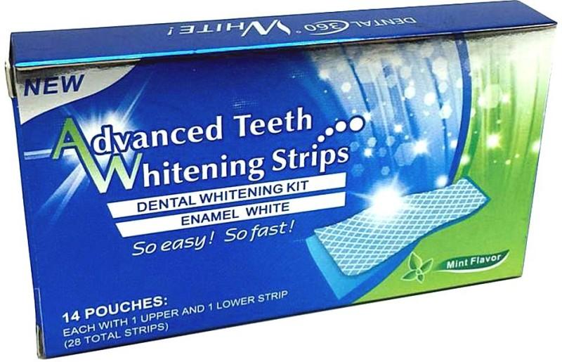 Aitch Dental White Strips Teeth Whitening Kit