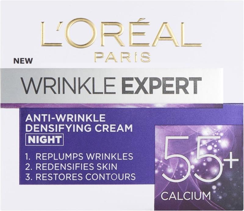 LOreal Wrinkle Expert 55+ Night Cream 50(49 ml)