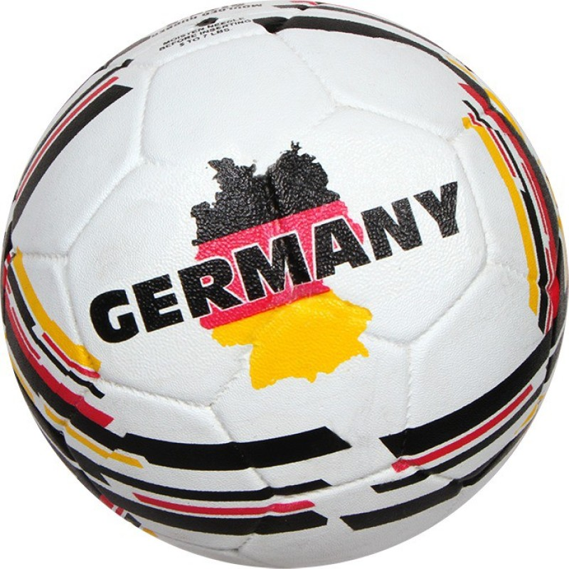 Nivia COUNTRY COLOR GERMANY Football - Size: 5(Pack of 1, White)