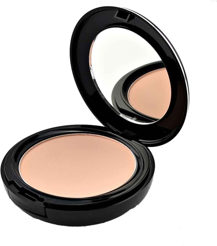 GlamGals 3 in 1 Three Way Cake Compact Makeup+ Foundation + Concealer SPF 15,12 g Compact - 12 g(Brown)