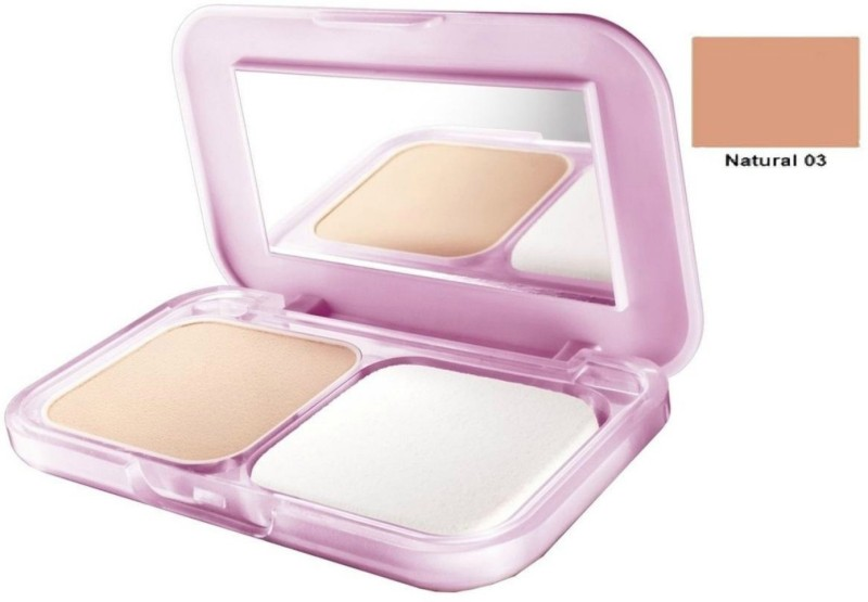 Maybelline Clear Glow All in One Fairness Compact Powder Natural 03 Compact(Natural)