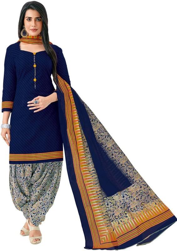 Jevi Prints Cotton Paisley, Printed Salwar Suit Dupatta Material(Un-stitched)