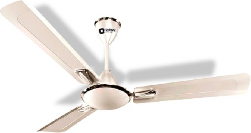 Orient Electric GRATIA 1200 mm 3 Blade Ceiling Fan(PEARL MATALIC WHITE, Pack of 1)