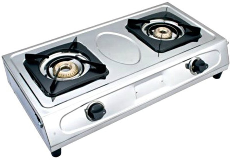 Surya laxmi Steel Manual Gas Stove(2 Burners)