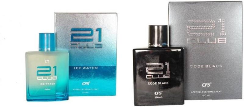 21 CLUB CODE BLACK ICE WATER Eau de Parfum - 200 ml(For Men & Women)
