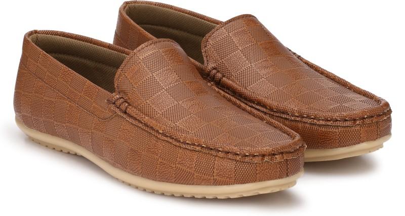 Andrew Scott High Grade PU Loafers For Men(Tan)