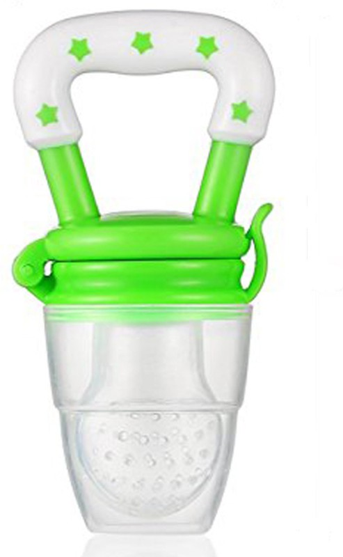 ae Silicone Baby fruit Feeder/BPA Free/Food Feeder/Silicone Food Nibbler/ Feeder(Green)