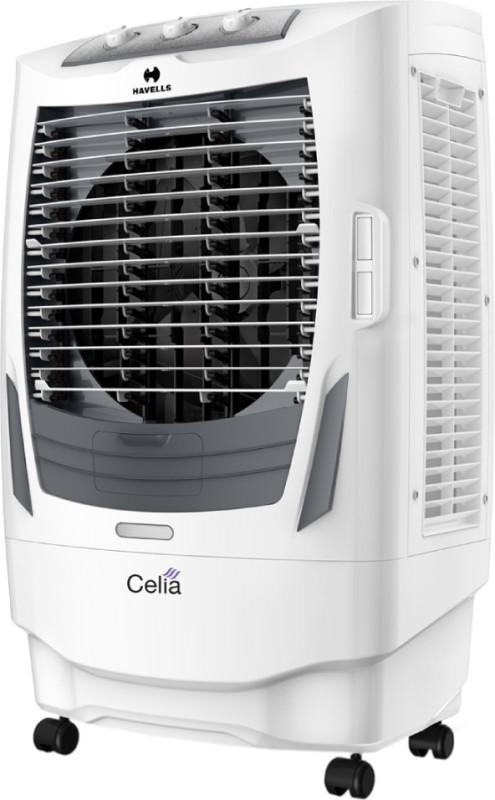 Havells Celia Desert Air Cooler(White, Grey, 55 Litres)