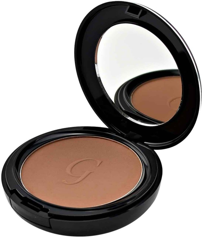 GlamGals 3 in 1 Three Way Cake Compact Makeup+ Foundation + Concealer SPF 15,12 g (Burnt Amber) Compact - 12 g(Beige)