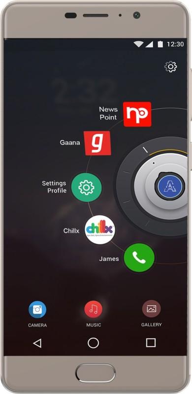 Panasonic Eluga A3 (Mocha Gold, 16 GB)(3 GB RAM) image