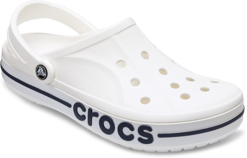 Crocs Men White Clogs - Buy Online in