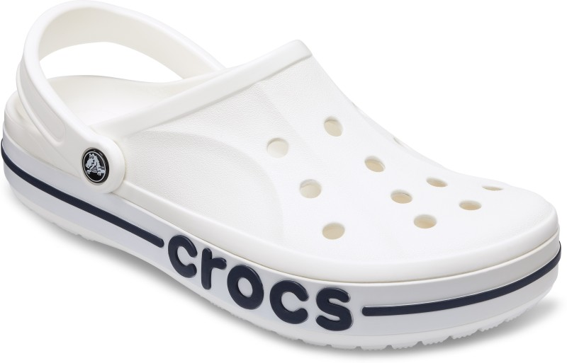Crocs Men White Clogs