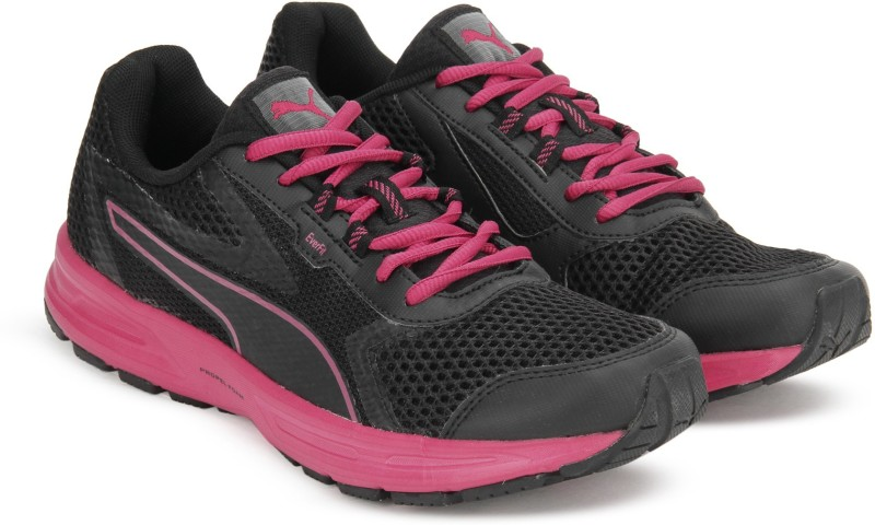 Puma Essential Runner Wn s IDP Running Shoes For Women(Black, Pink)