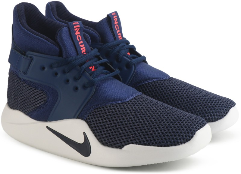 Nike INCURSION MID SE Basketball Shoes For Men(Blue)