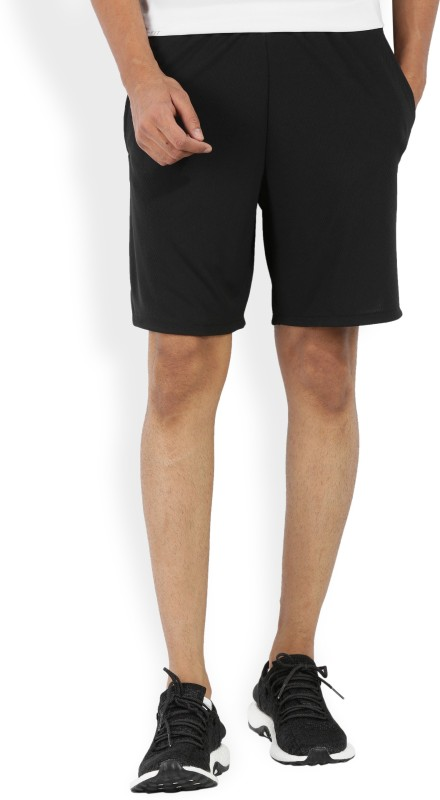 Nike Solid Men Black Sports Shorts