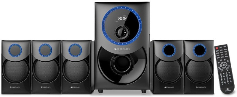Zebronics zeb-taal 95 W Bluetooth Home Theatre(Black, 5.1 Channel)