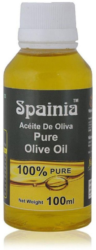Spainia Pure Olive OIl 100 ML Olive Oil Plastic Bottle(100 ml)