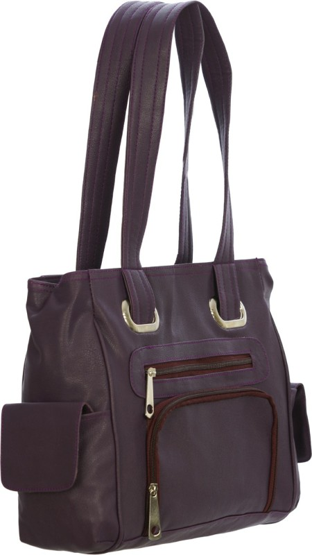 Meridian Women Purple Shoulder Bag