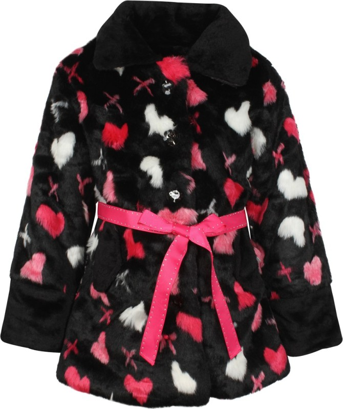 Cutecumber Full Sleeve Printed Girls Jacket