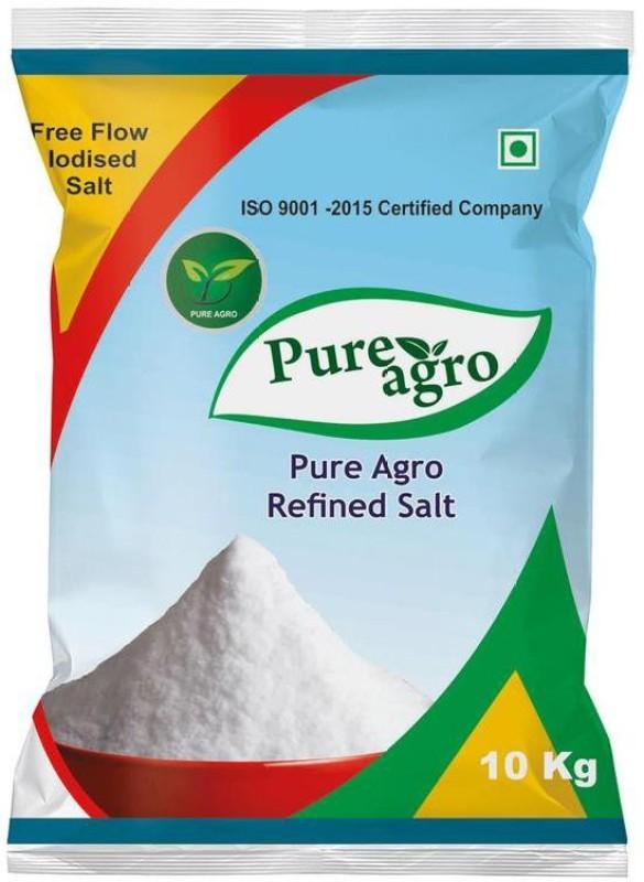 Pure Agro Iodized Salt Iodized Salt(10 kg)