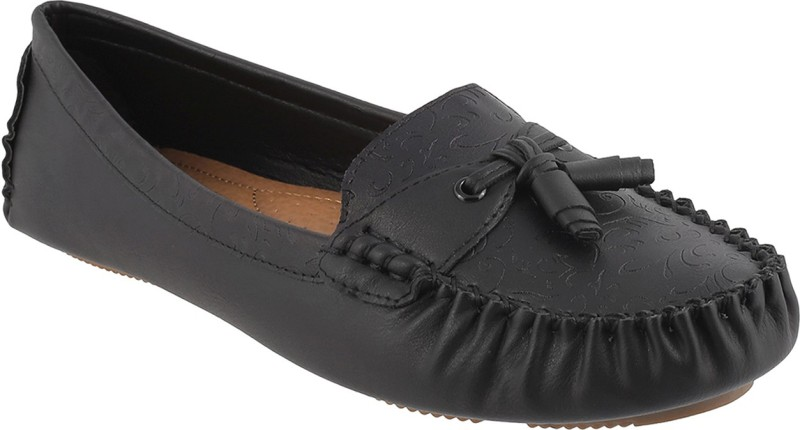 Mochi Awesome Mocassin For Women(Black)