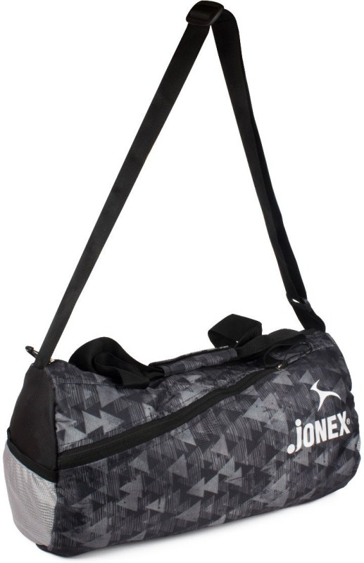 JJ Jonex Foldable Unisex Casual Gym Duffel Round(Grey, Kit Bag)