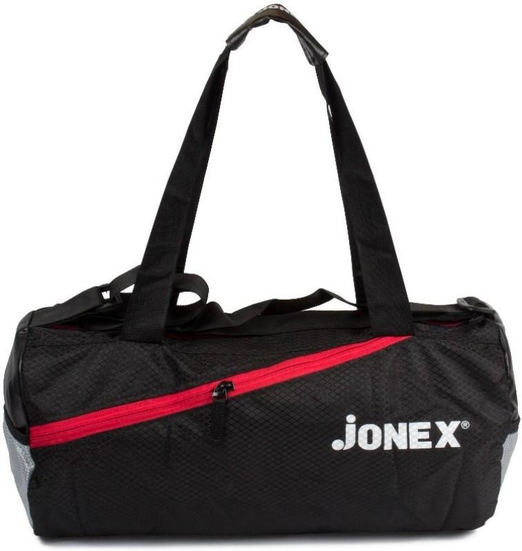 JJ Jonex Foldable Unisex Casual Gym Duffel Round(Red, Kit Bag)