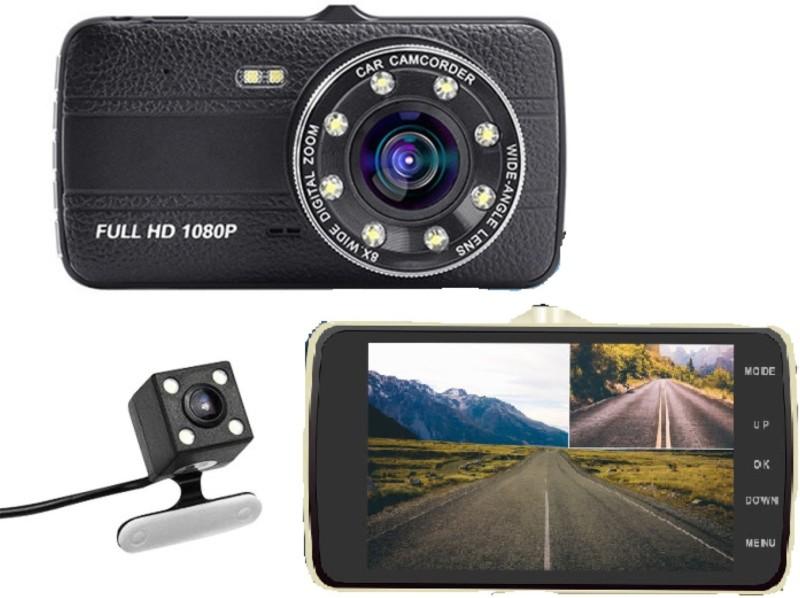 Novatek NT800 Full HD Front Dash Cam HD Rear Camera DVR Recorder Vehicle Camera System