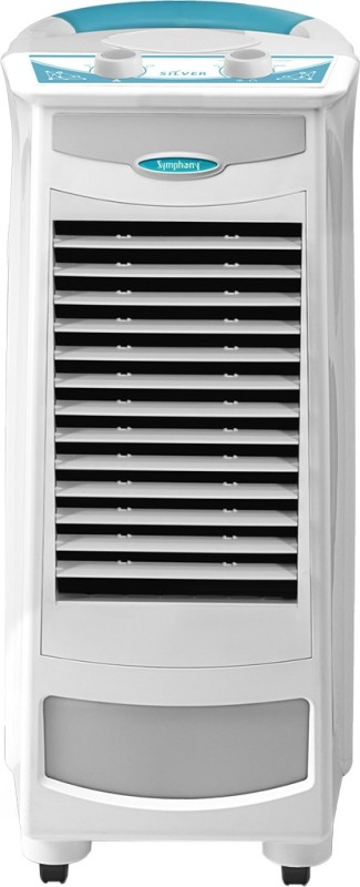 Symphony Silver Personal Air Cooler(White, 9 Litres)