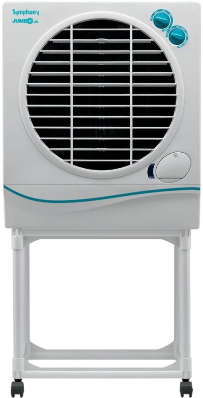 Symphony Jumbo with Trolley Desert Air Cooler(White, 41 Litres)