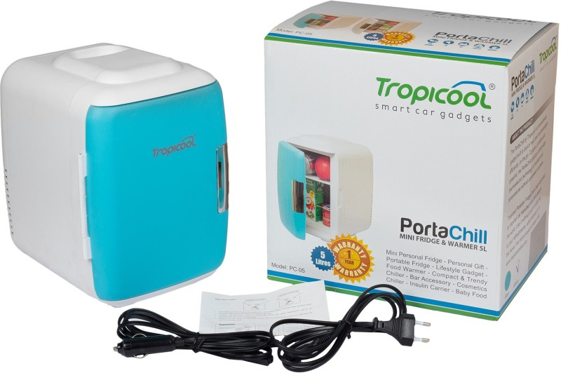 Tropicool PC-05-blue PortaChill 5 L Car Refrigerator(Blue)