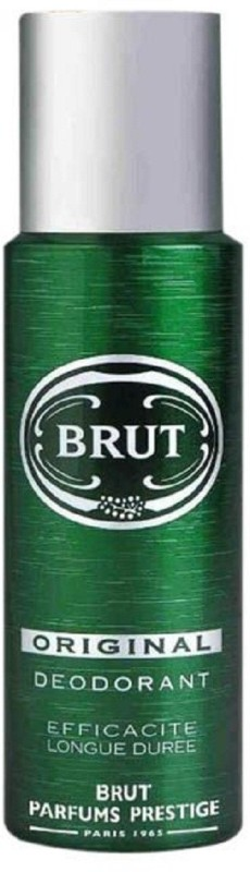 Brut EFFICACITE LONGUE DUREE Deodorant Spray - For Men(200 ml)