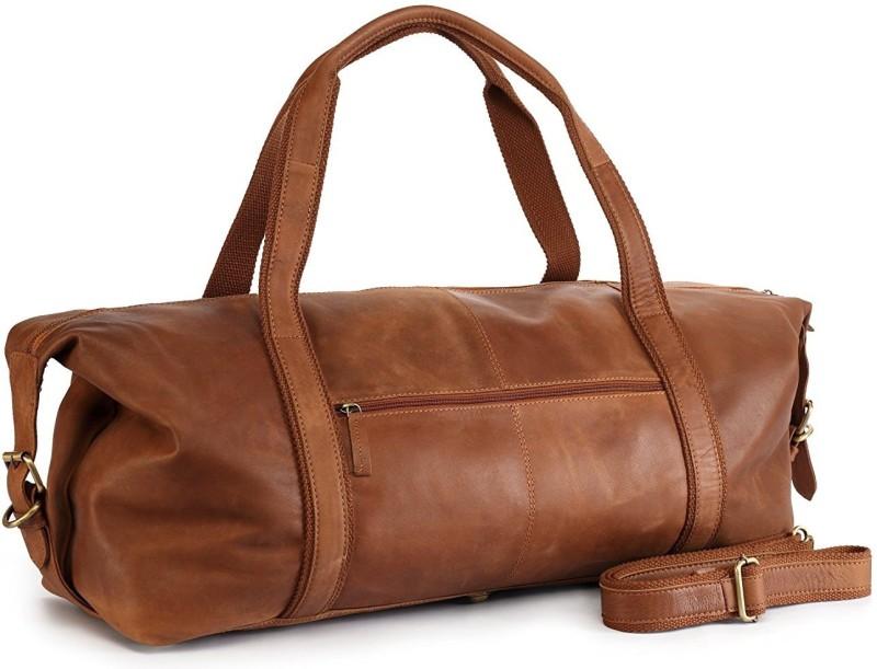 Adamburk Stylish Unisex Multiple Carrying BG Travel Travel Duffel Bag(Beige)