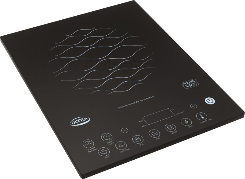 Elgi Ultra POWER TOP SLIM 2000 Induction Cooktop(Black, Touch Panel)