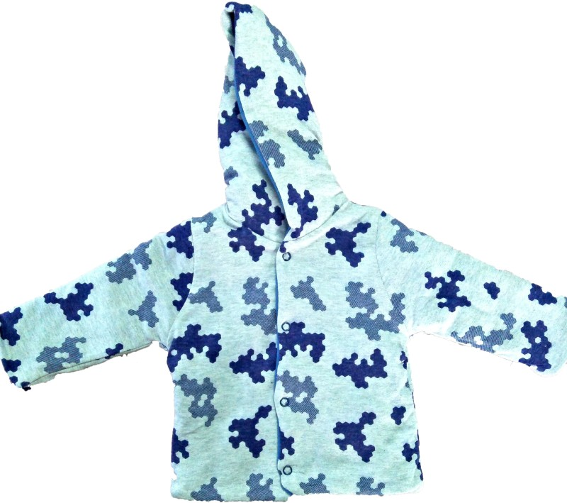 Tinepawz Top For Boys(Blue, Pack of 1)