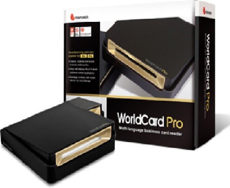 PenPower TECHNOLOGY LTD WorldCard Pro (Win/Mac) WorldCard Pro Scanner(Black) image