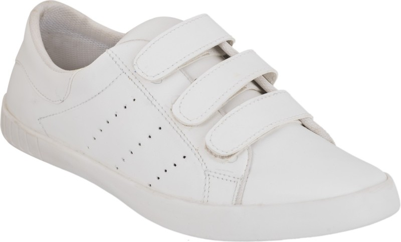Shoe Mate Mens White Casual Shoes Sneakers For Men(White)