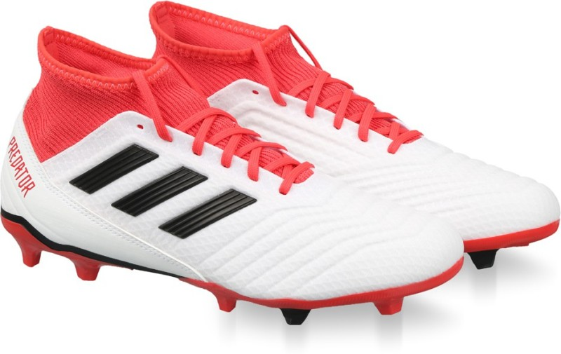 ADIDAS PREDATOR 18.3 FG Football Shoes For Men(White)