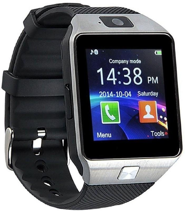 goapnabazar Dz09 Silver Galaxy A8+ Bluetooth with calling Smartwatch(Silver Strap Regular)