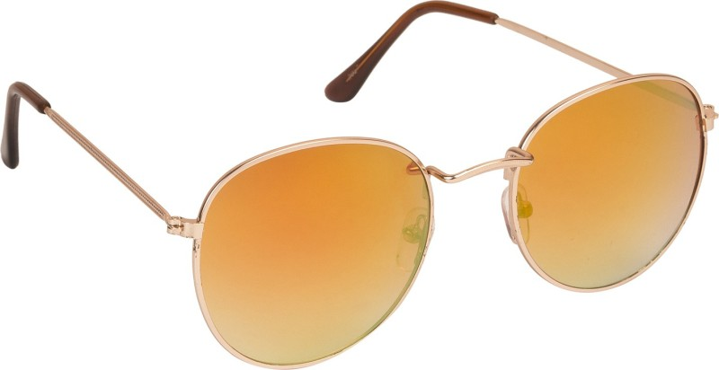 Danny Daze Round Sunglasses(Orange)