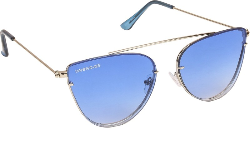 Danny Daze Cat-eye Sunglasses(Blue)