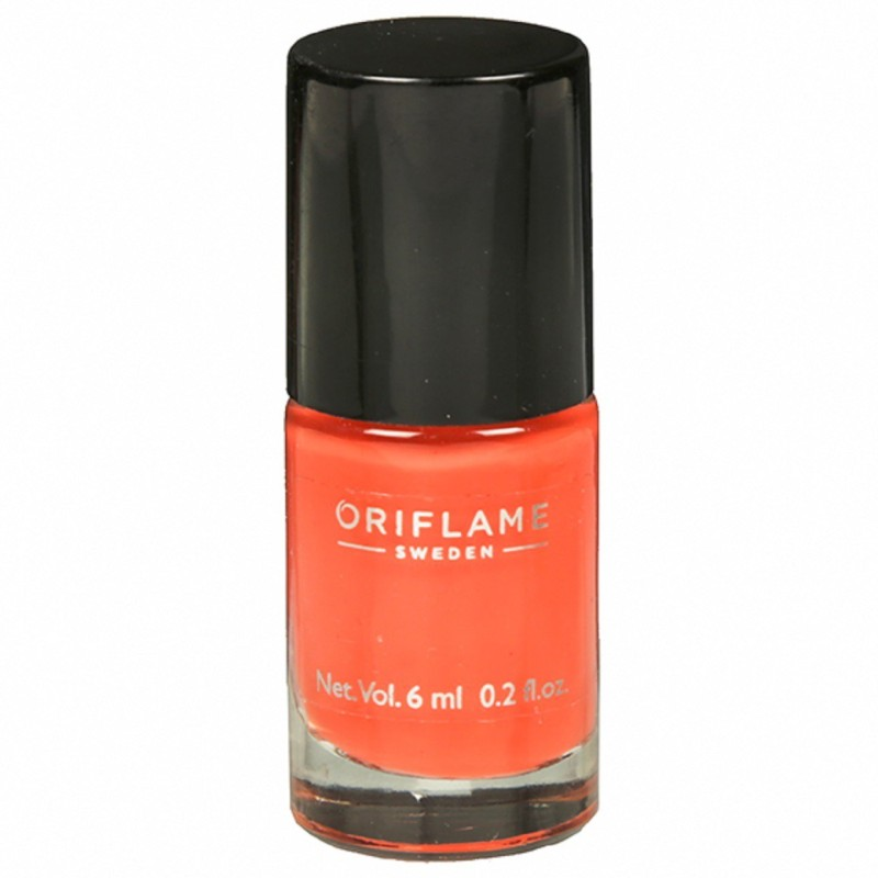 Oriflame Sweden pure colour nail paint Peach pink(6 ml)