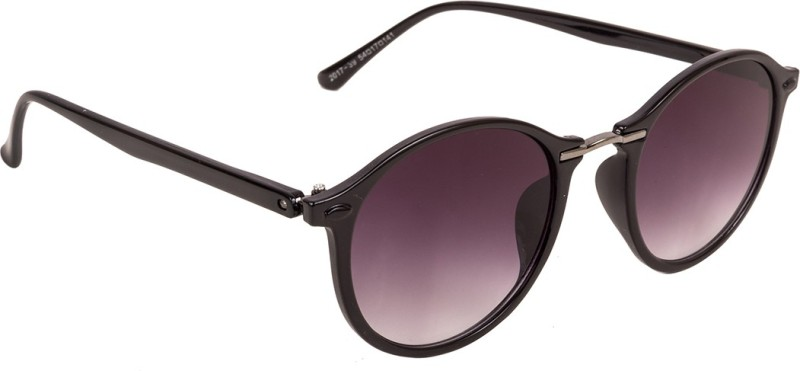 Voyage Round Sunglasses(Black)