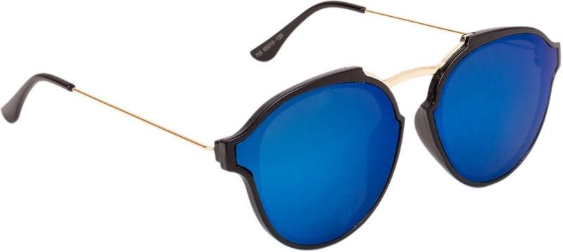 Voyage Round Sunglasses(Blue)