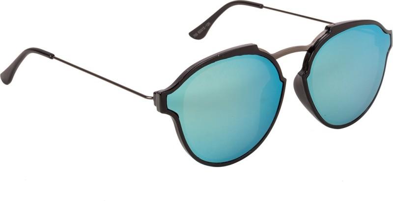 Voyage Round Sunglasses(Green)