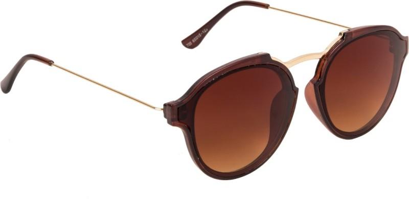 Voyage Round Sunglasses(Brown)