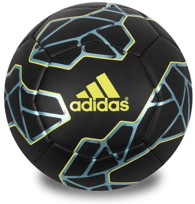 ADIDAS massi Football - Size: 5(Pack of 1, Black)